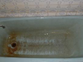 Vonių atnaujinimas restauravimas