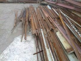 Metalas tekinimui, vamzdžiai,armatūra