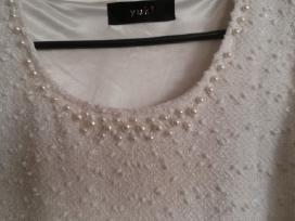 Balta su perlais s/m