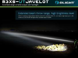 Olight M3xs-ut Javelot prozektorius 1000 metru