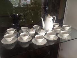 Vokiškas kavos servizas Jiesios maža vazelė