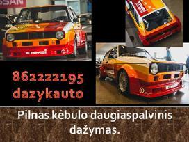 Automobiliu dazymas Kaune . Geriausia kaina