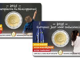 Belgija 2 euro 2015 European Year for Development