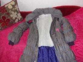 Žieminis paltukas mergaitei