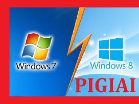 Pigiai įrašau perinstaliuoju windows 7 8 10 xp