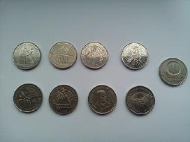 Visos Jubiliejines 1lt monetos + 1lt paprastas