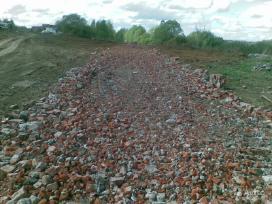 Statybis gruzas (skalda) kelio,aikštelės užpylimui