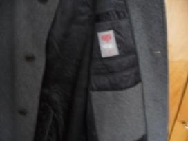 Vilnonis vyriškas paltas