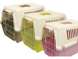 Plastikiniai tualetai, transportavimo dėžės katėms