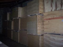 Medinės dėžės