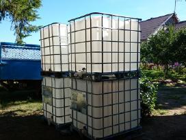 Ibc konteineriai 1000ltr