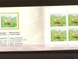 """Parduodu Latvijos pašto ženklus tema """"fauna"""""""