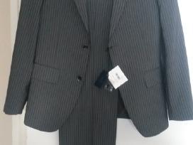 Vyriškas nenaudotas 46 dydžio kostiumas iš Šveicar