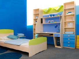 Kokybiškų vaikų/jaunuolio kambario baldų gamyba