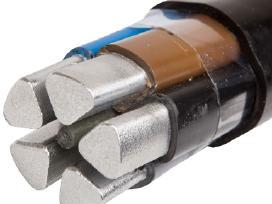 Kabelis aliuminis 4x25 - 1.70eur uz 1m.