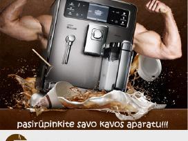 Kavos Aparatų Remontas!