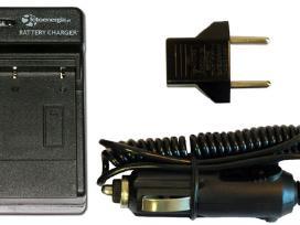Foto kamerų Įkrovikliai, baterijos