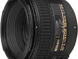Naujas objektyvas Nikon Nikkor Af-s 50mm f/1.4 G