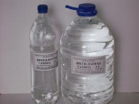 Platiname pramoninį distiliuotą vandenį