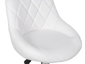 2 Baltos Baro Kėdės vidaxl