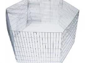 Metalinis narvas šuniui / metalinė tvorelė