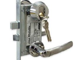 Šarvuotų durų spynų remontaskeitimas