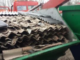 Šiūkšlių konteinerių 8-10m3 nuoma išvezam atliekas