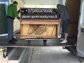 Pianino pervezimas,gabenimas,uznesimas