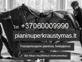 Pianino pervezimasgabenimasuznesimas