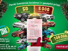 Perku teleloto loterijoje laimeta automobili