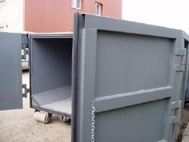 Uztraukiami konteineriai