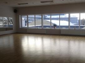 130 m2, salė antrame aukšte