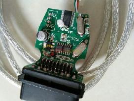 Bmw diagnostinis kabelis inpa k+dcan žalia plokštė
