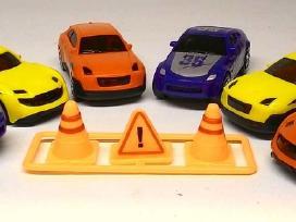 Maži automobiliukai - 6 vnt.