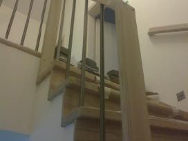 Mediniu laiptu gamyba