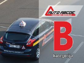 Vairavimo mokymas Kaune (b kategorija)