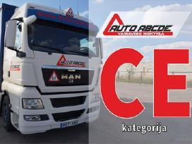 C Kategorija C E Kategorija Kaune