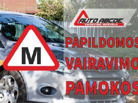 Papildomos Vairavimo Pamokos Kaune (instruktorius)