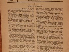 Kriminalinės Milicijos žinios 1941m. Nkvd paieška!