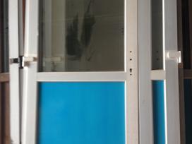 Lauko plastikines Durys-pigios+langai