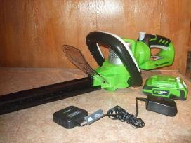 Akumuliatoriniai Trimeriai Green Works Tools