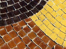 mozaikinės klinkerio trinkelės 6x6x6,5