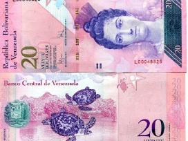 Venesuela 20 Bolivares 2007m. P91b Unc
