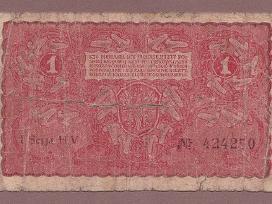 Lenkija 1919m. banknota 1 marka N232+*