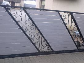 Kiemo vartai, tvoros, vartų automatika, remontas