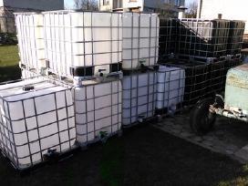 Ibc 1000l-600l konteineriai talpos ir kita tara