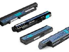 Acer kompiuterių baterijos.