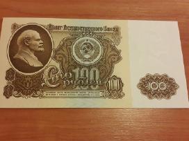 100 rublių 1961 m.unc
