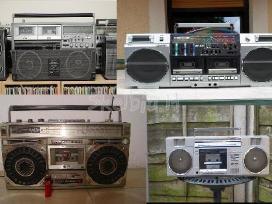 Perku kasetinius magnetofonus (boombox)
