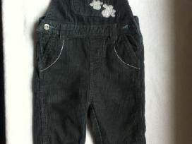 Firminės Coolclub kelnės su petnešėlėmis, 86 cm.